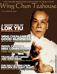 Wing Chun Magazine Current Issue